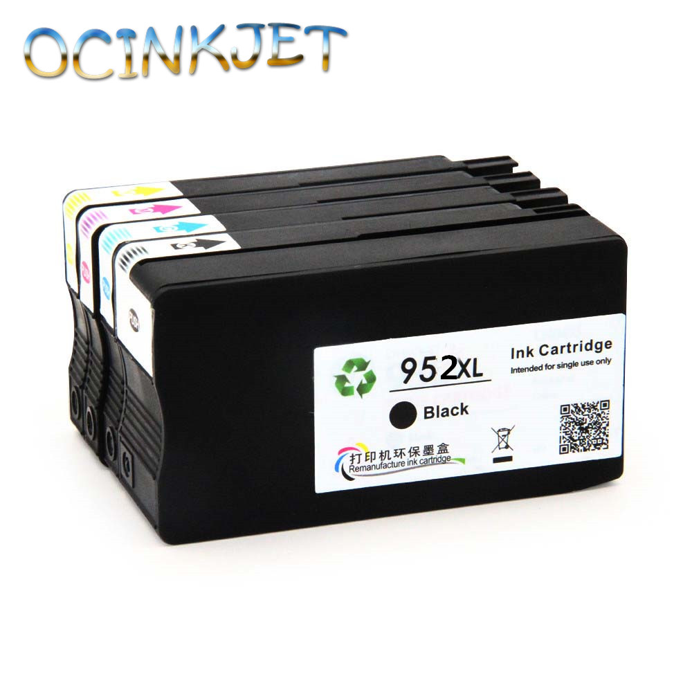 Ocinkjet Made In China 952XL Ink Cartridge Full With Ink For HP Officejet Pro 7740 8710 8715 8720 8730 8740 8210 8216 8725