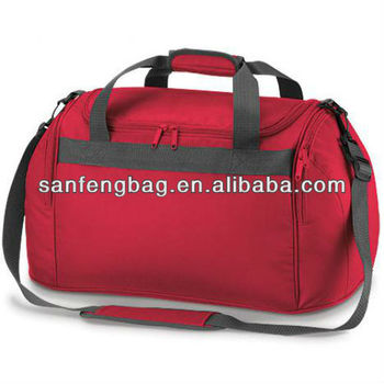 Red mini sports school bag