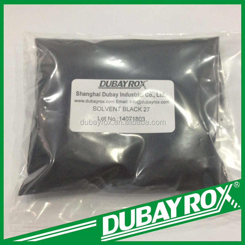 Metal Complex Solvent Dyes Solvent Black 27 for Leather Plastic Coating