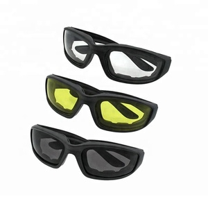Wholesale Custom Logo 3 Pair Smoke Clear Yellow Sport Motorcycle Riding Glasses Promotional Women Men Sunglasses