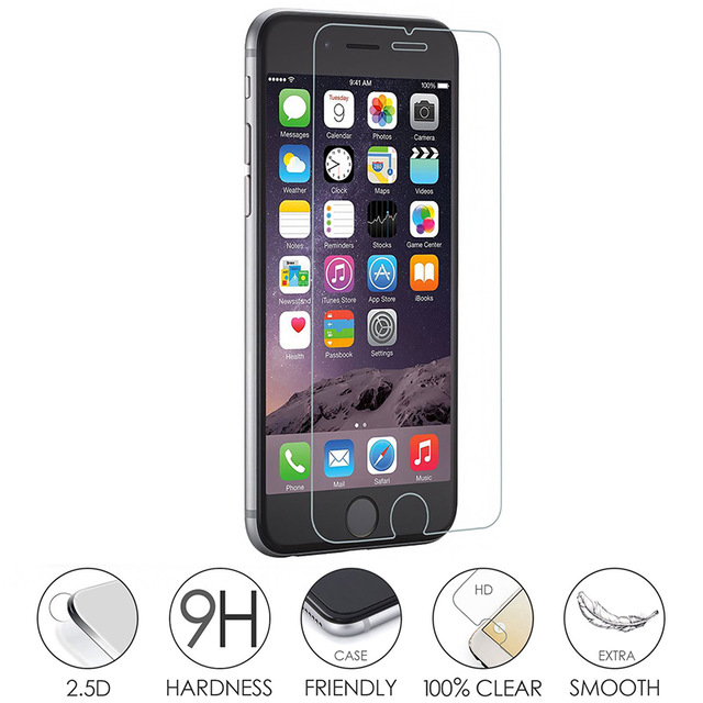 3D Silicone Edge Full Tempered Glass Screen Protector Raw Material For Screen Protector For iPhone6/7/8 4.7inch 5.5inch