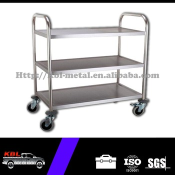 Stainless Steel Food Serving Carttool Trolley Cart With Three Layersstc 850 3odmoem Buy Staibless Steel Food Serving Cartstainless Steel Cart