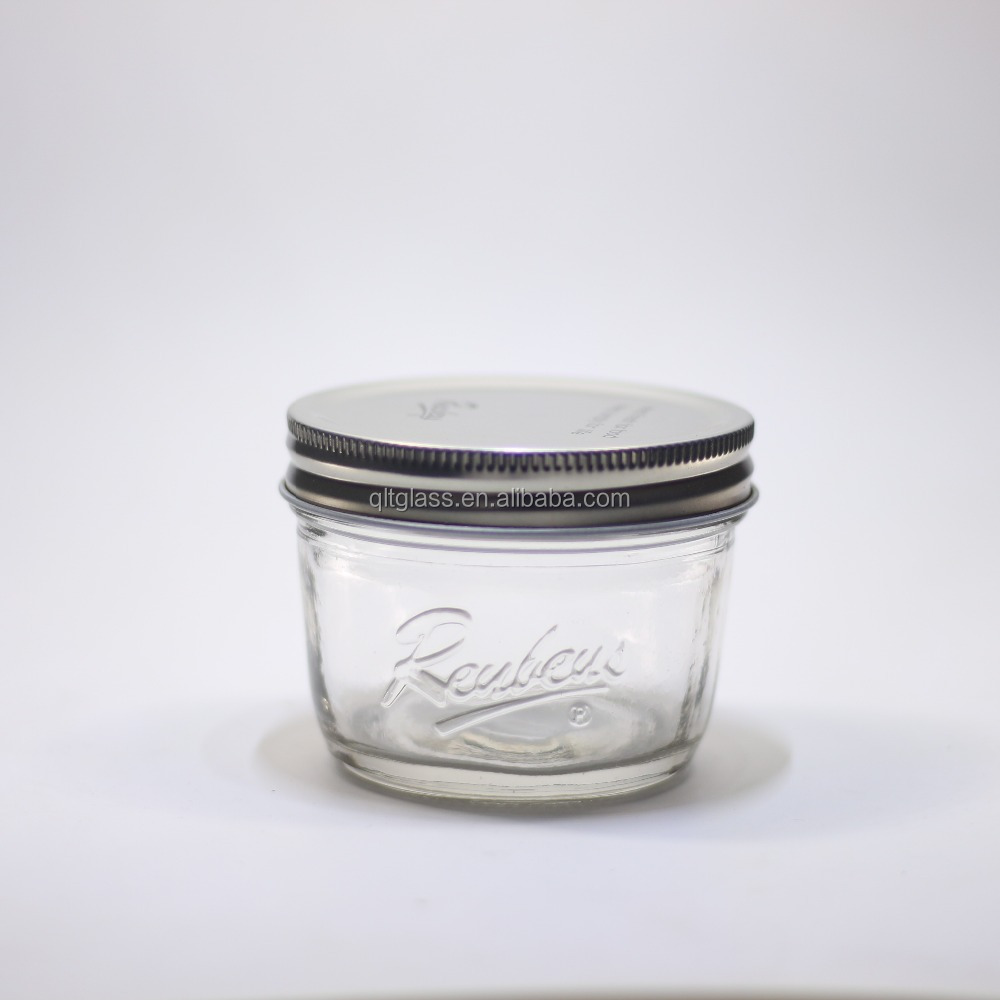4 Oz Quilted Mason Jars Bulk Ball Set Of 4 Wide Mouth