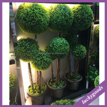 PJ499 artificial ball tree outdoor green plants wholesale