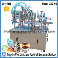 ZDG-YS fruit icecream making machine or automatic ice cream or soft ice cream cone machine
