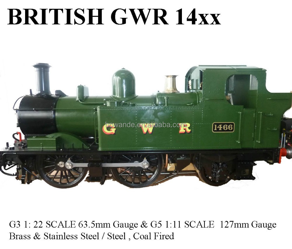 14xx,1:22 6 Live Steam Locomotive (brass Made) - Buy G3 Scale,1:22 6 Steam  Engine Locomotive Product on Alibaba com