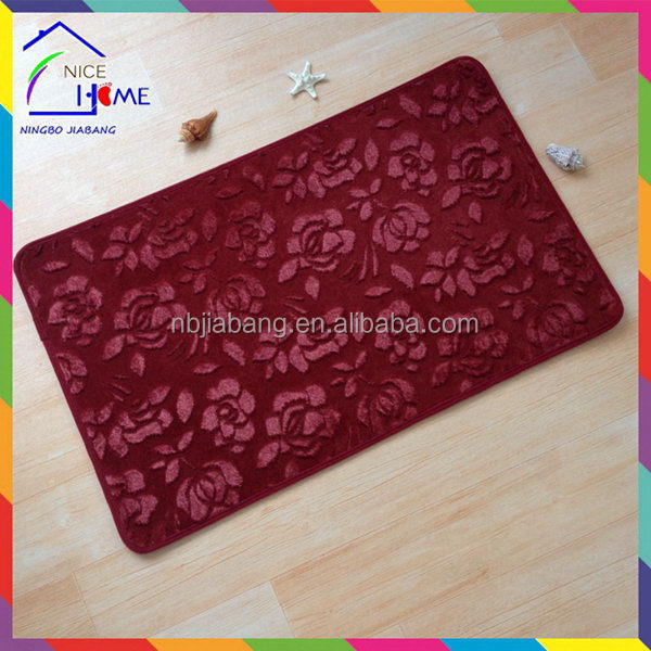 Emboss Rose super quality rugs floor carpet