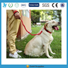 Nylon Elastic Reflective Pet Dog Leashes and pet shock collar with solid buckle