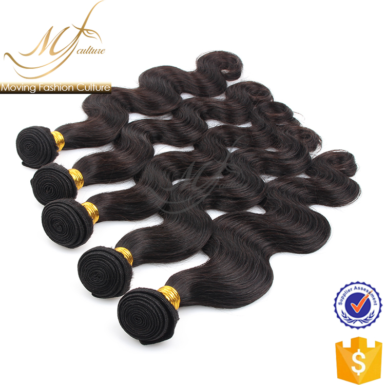 Fashional design body wave hair extension india