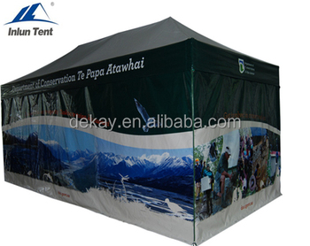 huge discount 138bb b1bc5 10x20 walmart ez-up aluminum frame pop up tent outdoor custom canopy tent  for sale, View cheap custom printed canopy tent, INLUN Product Details from  ...