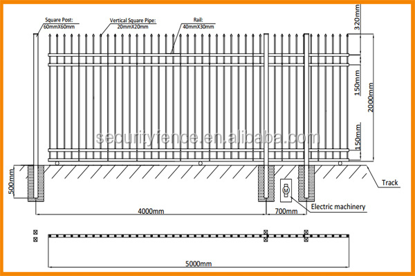 Top Selling New Style Steel Gate Design With Iso Buy
