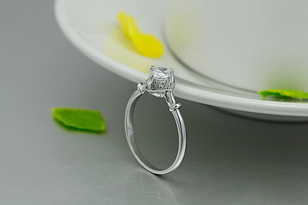 whosesale jewelry 925 sterling silver rhodium plating charm rings