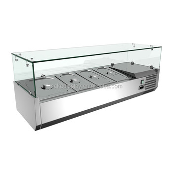 Vrx 1000/330 Glass Cover Table Top Salad Bar Cooler - Buy ...