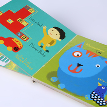 China Custom Full Color Cheap Cardboard Hardcover Laminated English Children Story Book
