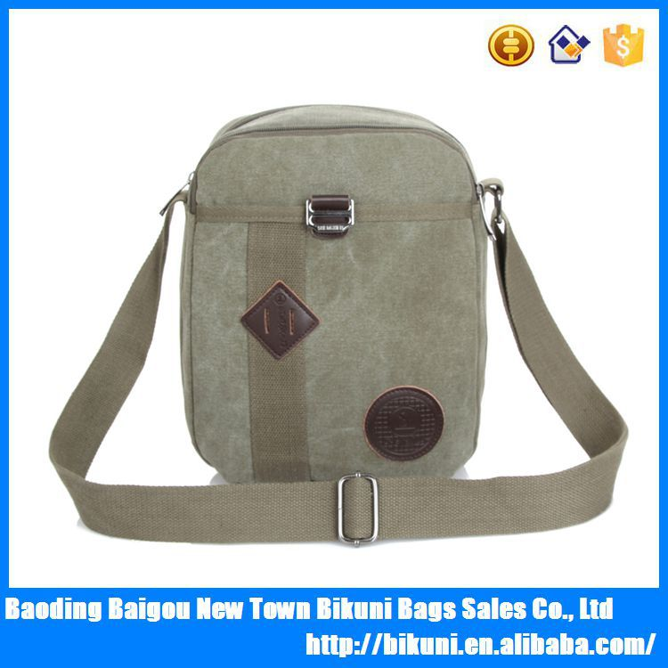 Guangzhou factory vintage style professional designer bags wholesale men's canvas satchel bag cheaper messenger bag