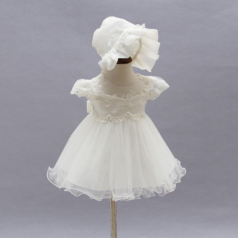 c3ea40963 2017 Boda Bebé Niña Vestido Infantil De Princesa Niñas 1 Año Vestido De  Fiesta De Cumpleaños Recién Nacido Bautizo Vestidos Para Niñas - Buy ...
