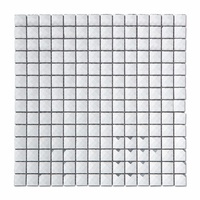Square Mirror Tile Diamond Glass Mosaic