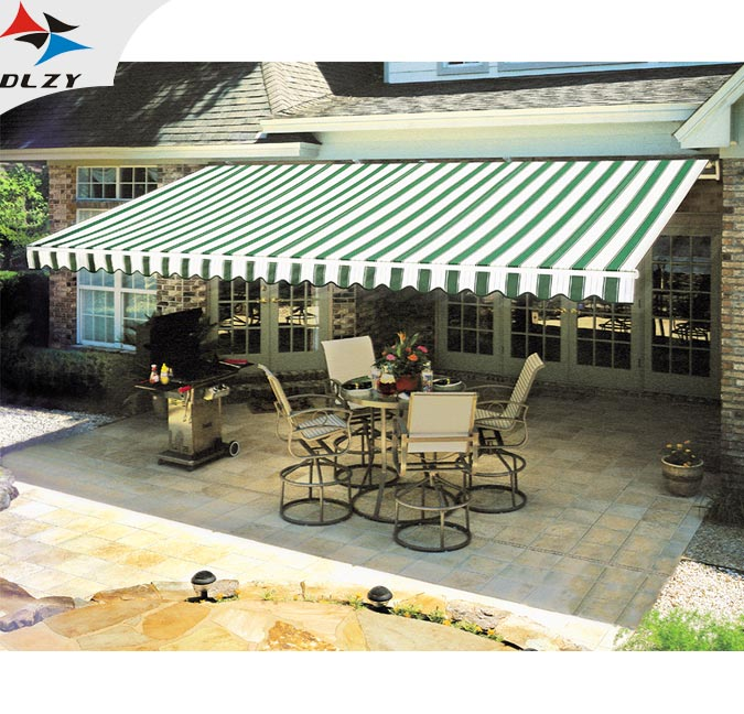 China supplier Green Sun metal roof awning