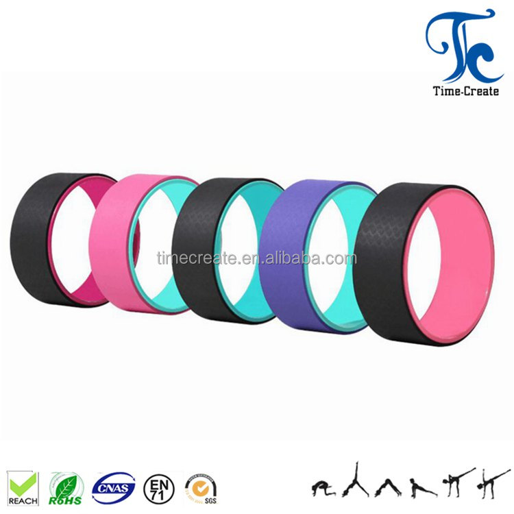 factory direct supply abs tube comfortable tpe padding yoga wheel