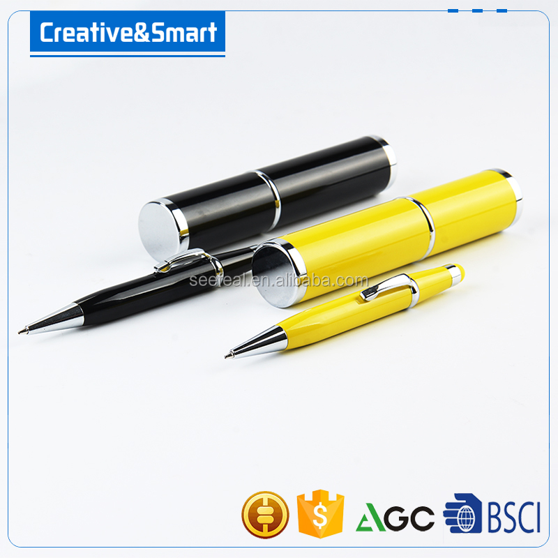 new design colourful cute touch ballpen stylus pen Twist-action fat pen for school and kids
