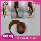 Anna style cosplay hair braids wigs hairpieces