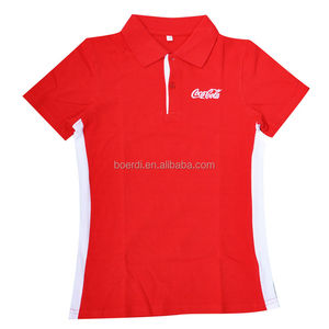 eco friendly high quality popular classic women's polo shirt