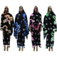 High Quality Plus SIze Colorful African Hijab Burka Abaya Dresses Designs Women Islamic Clothing with Scarf
