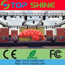 Outdoor Big Advertising Screen SMD P10 Rental screen Aluminium die casting led screen stage background giant event
