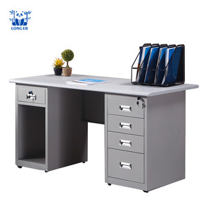 Long er Computer Table Office Desk Design Steel Computer Desk Table