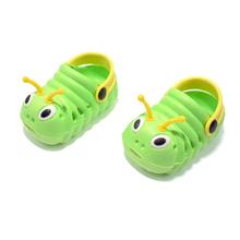 Cute Caterpillar Cartoon Children EVA Sandals Summer Baby Girls Boys Beach Slippers Kids Sandalias Sapato Infantil
