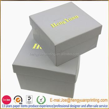 Karton Weiß Schmuckkästchen Für Armband Verpackung Mit Deckel Und