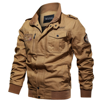 Men Clothes Coat Military bomber men jacket Tactical Outwear Breathable Light Windbreaker jackets Men's Pilot Jacket Air Force