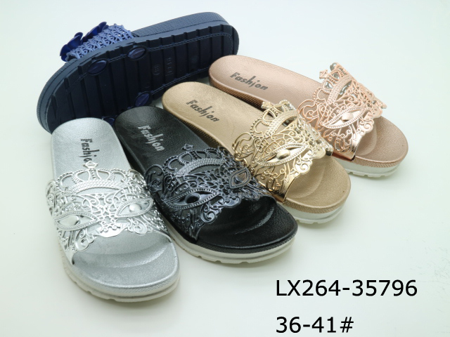 Free shipping cheap price women plastic slipper