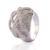 silver gift items fashion wholesale american18k gold plated diamond ring woman jewelry