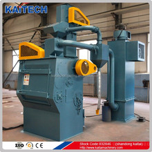 Q326 rubber belt sand blasting machine for cleaning steel casting