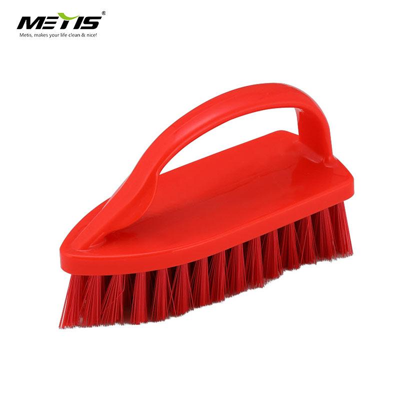 El demir fırça Ev Bez Yıkama Fırçası Çift kullanımlı Ovma Fırçası Giysi İç Ayakkabı için Plastik Yumuşak Temizleme Aracı