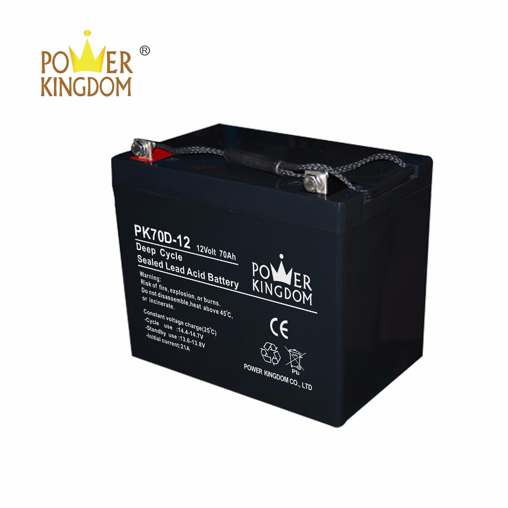 High-quality agm battery bank directly sale solar and wind power system