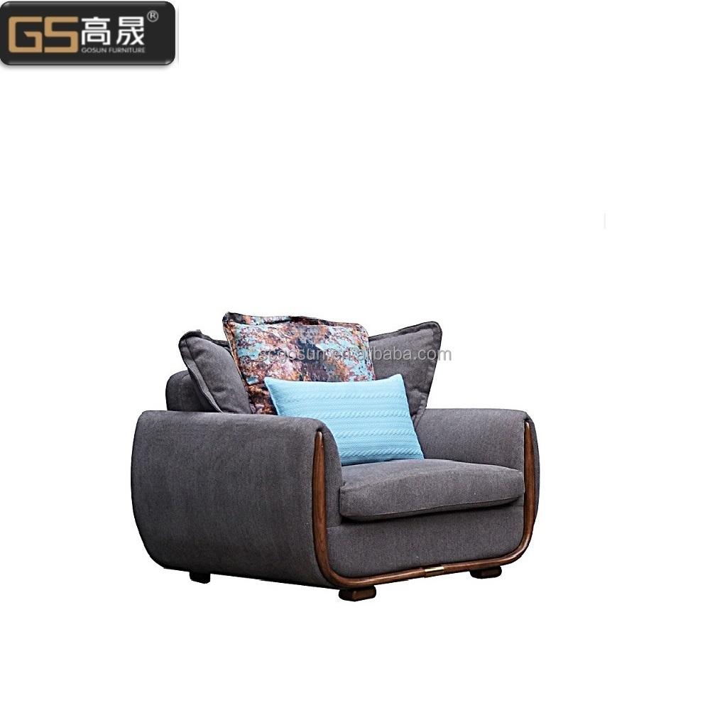 Venta al por mayor sofas con reposabrazos de madera-Compre online ...