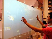 50″ capacitive touch film, 4 points capacitive touch foil film for glass