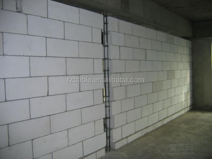 Alc de hormig n celular autoclavado bloques ligeros pared - Hormigon celular precio ...