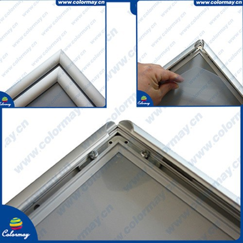 25mm Profile Wall Mounted Aluminum Snap Frame,Snap Clip Poster Frame ...