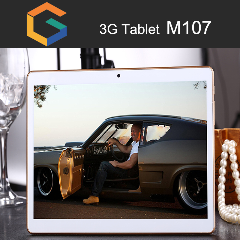 Cheap Tablet PC M107 3G / 4G OEM 10.1 Inch Android 5.1 Quad Core 1G+16G Tablet Gift Box