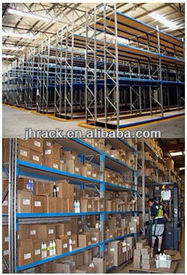 warehouse shelving industrial storage metal steel rack system