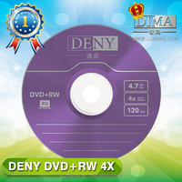 China factory direct export blank dvd+rw
