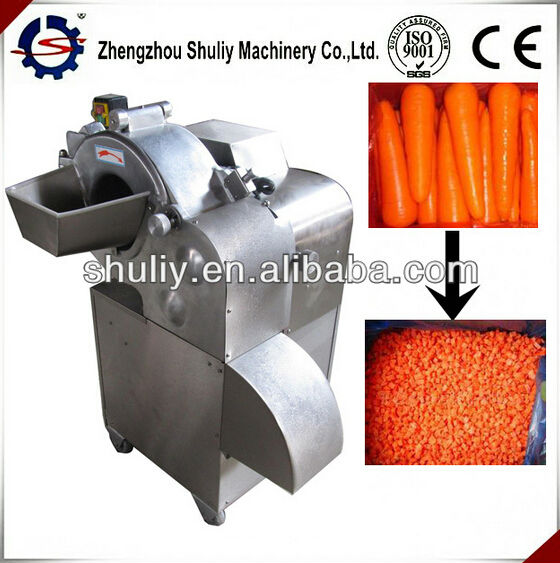 Electric vegetable cube cutting machine| Potato cube cutting machine|Vegetables and Fruit cubes cutting / mob :0086-15838061759