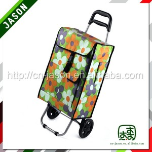 folding shopping trolley hand supermarket shopping trolley