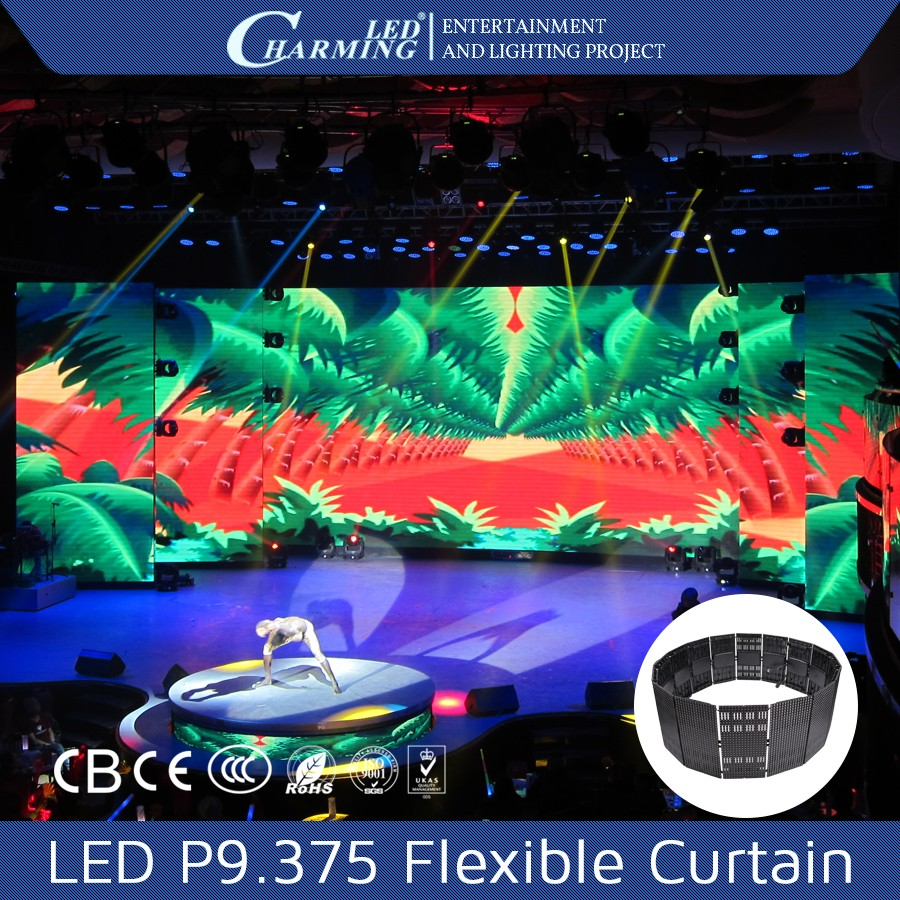 Video Stage 3 in 1 SMD LED Curtain Display tube led rgb light