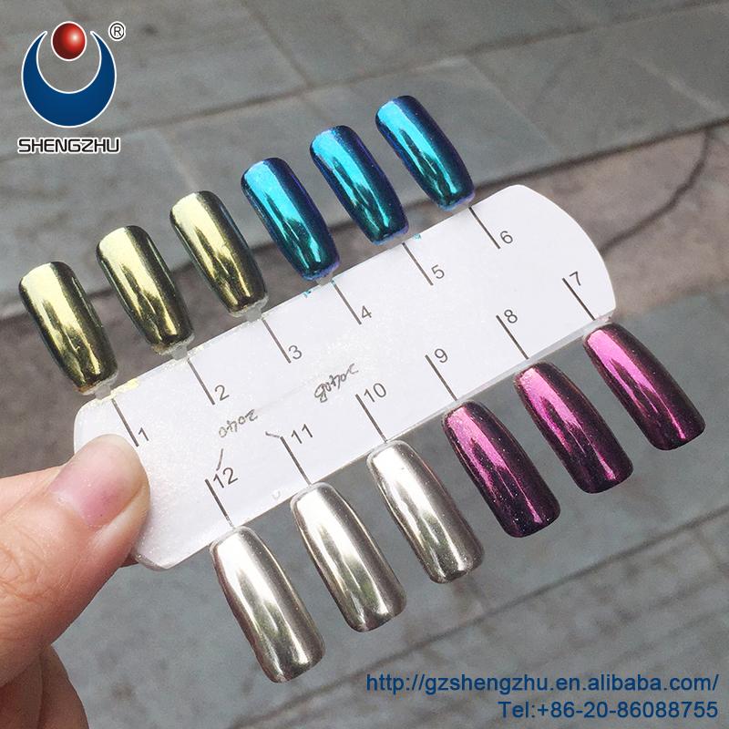 Brillo Mágico Espejo Metálico Pigmento Para Uñas - Buy Product on ...