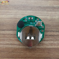 Single red color led flashing module/micro led flashing lights
