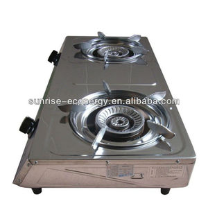 biogas stove double burner/biogas product